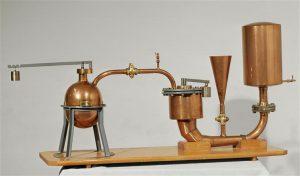 La dernière machine mise au point par Denis Papin, surnommée la machine de l'électeur