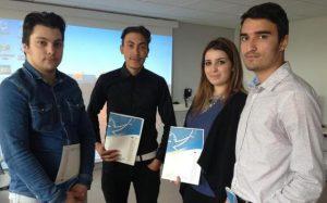 Vedat, Billal, Sabrine et Ozancan ont fait le plein de confiance grâce à leur expérience en Turquie.